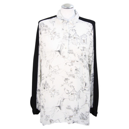 French Connection Blouse with pattern