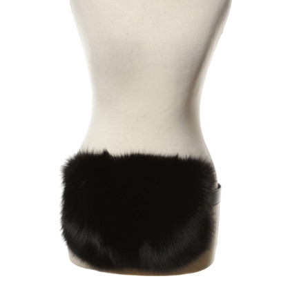 Other Designer Mühlbauer - black fur muff
