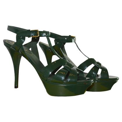 Yves Saint Laurent pumps Patent leather sandals