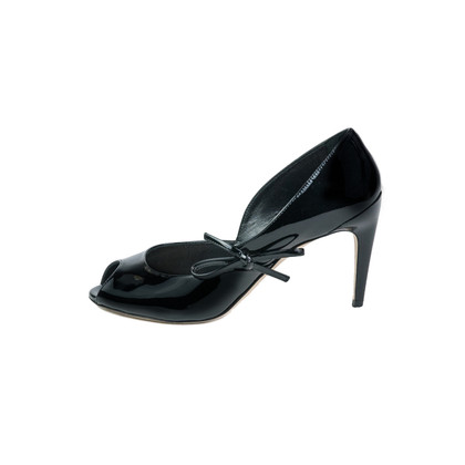 Christian Dior Patent leather open toe