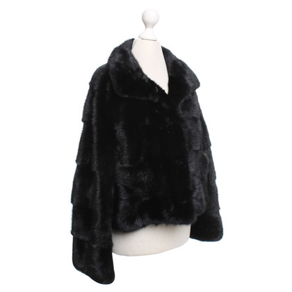 Simonetta Ravizza Short jacket made of mink fur