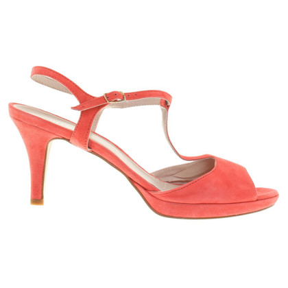 Minelli Sandals in Korallrot