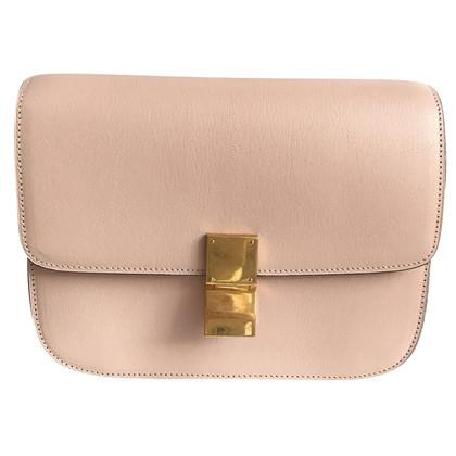 Céline Celine medium classic box blush