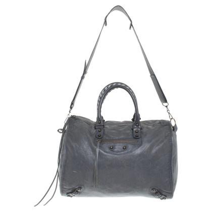 """Balenciaga """"Motorcycle Bag"""" in grey"""