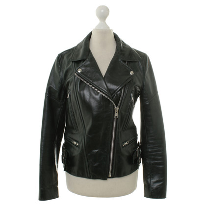 Victoria Beckham Leather jacket in the Bikerlook
