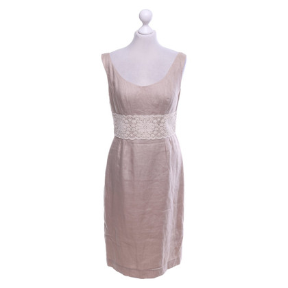 L.K. Bennett Linen dress in beige