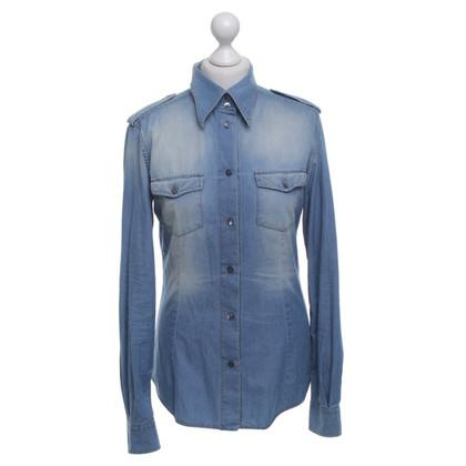 Dolce & Gabbana Jeans blouse in light blue