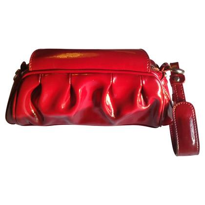 Roberto Cavalli Lakleder clutch