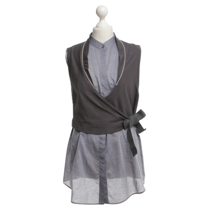 Brunello Cucinelli top in gray