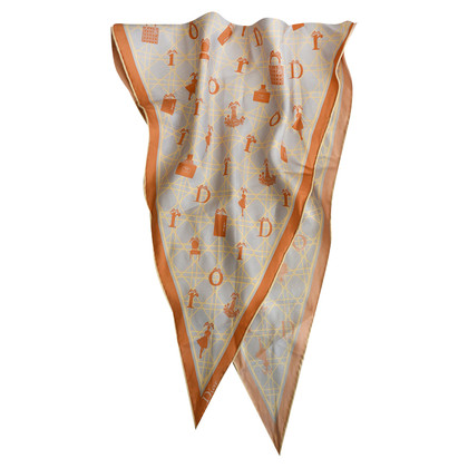 Christian Dior losange doek