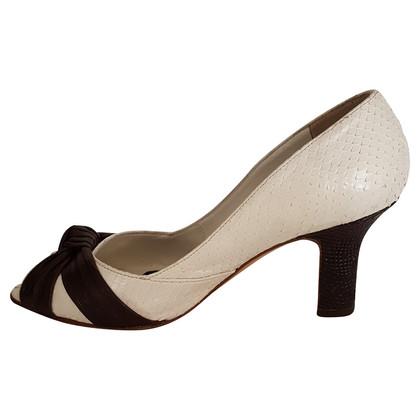 Fratelli Rossetti Python leather shoe