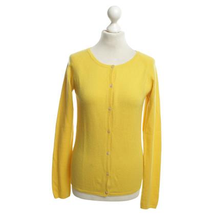 Altre marche Mc Leod - cardigan di cachemire in giallo