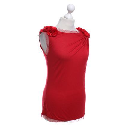 Valentino T-Shirt in Rot