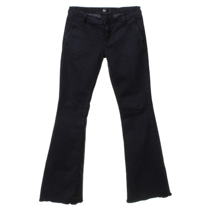 Mother Jeans bootcut in blu scuro