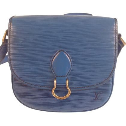 """Louis Vuitton """"Saint Cloud Epi Leder"""" in Blau"""