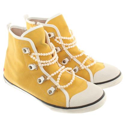 Moschino Love Sneakers con perline gioielli