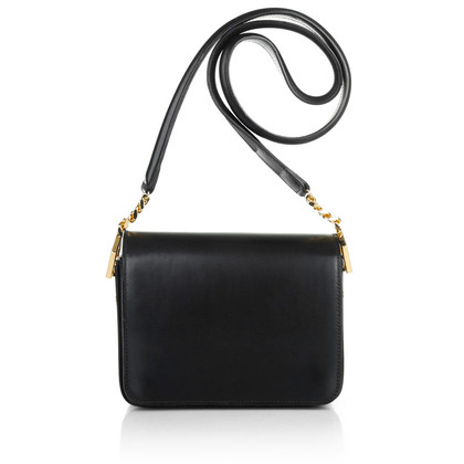 Sophie Hulme Small shoulder bag in black