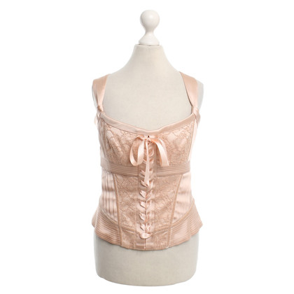 Karen Millen  Corsagen-Top in Nude