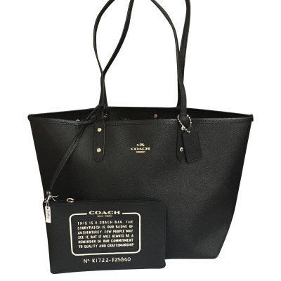 65330b9a05 Coach Shopper made from Saffiano leather