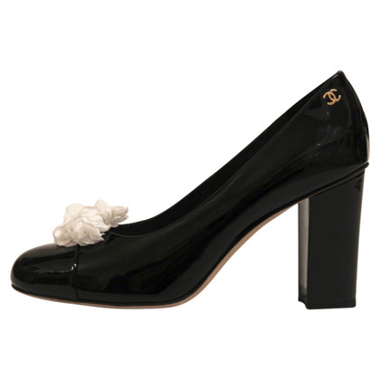 Chanel Lackleder-Pumps