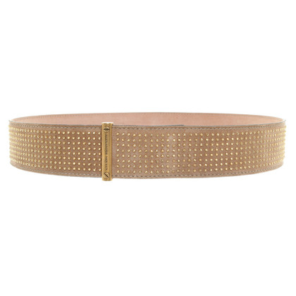 Alexander McQueen Belt made of suede
