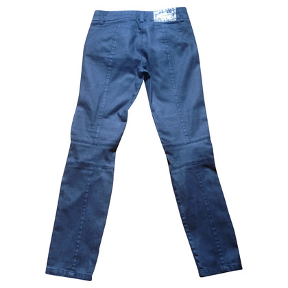 Ermanno Scervino Graue Jeans mit Stickerei
