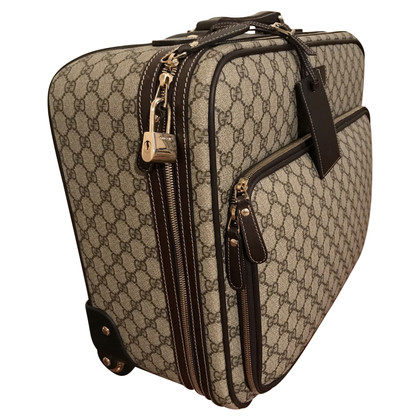 Gucci Trolley aus GG Supreme Canvas