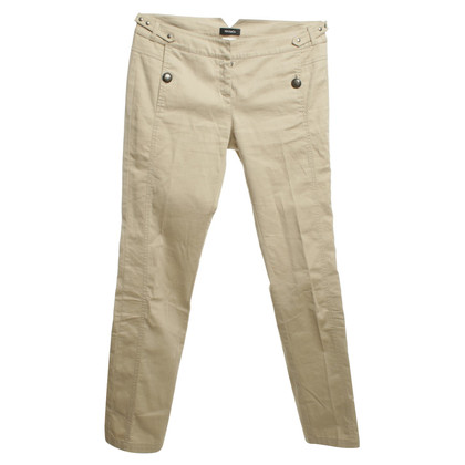 Max & Co Cotton trousers in beige