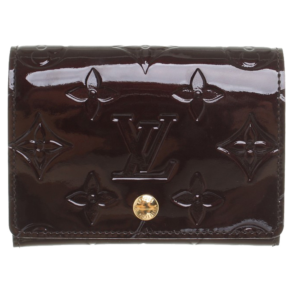 Louis Vuitton Business Card Holder from Monogram Vernis - Buy ...