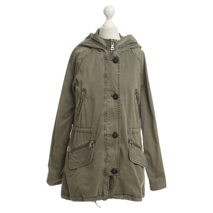 Blonde No8 Parka in olive