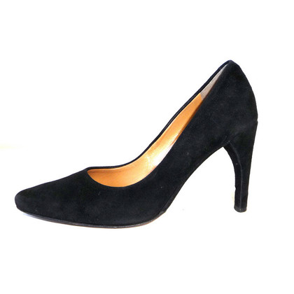 Bally Schwarze Leder Pumps