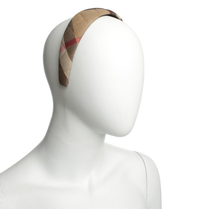 Burberry Prorsum Haarreif mit Nova-Check Muster