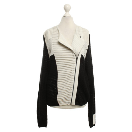 Lala Berlin Cardigan in black and white