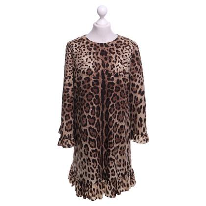 Dolce & Gabbana Dress with leopard pattern