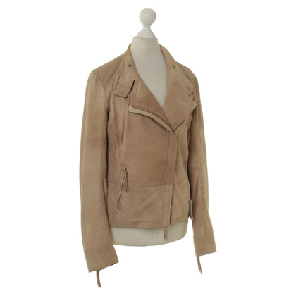 Hugo Boss Bikerjacke in Beige