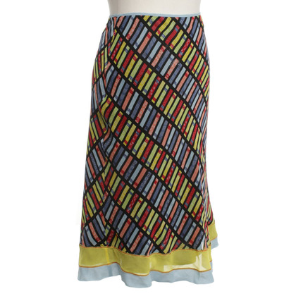 Philosophy di Alberta Ferretti skirt with pattern