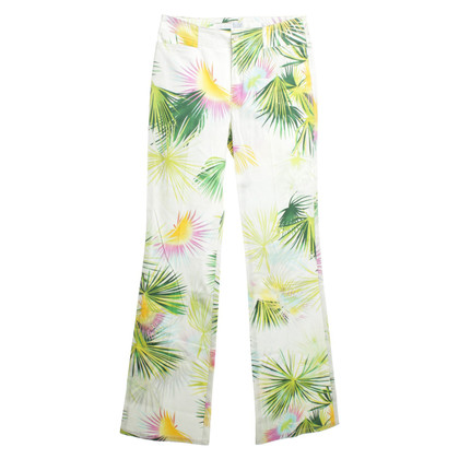 Escada trousers with floral pattern