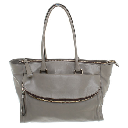 Coccinelle Leather handbag in taupe