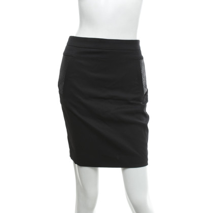 The Kooples skirt with leather insert