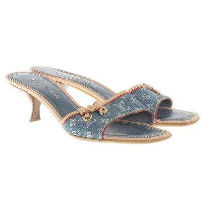 Louis Vuitton Sandals in Monogram Denim