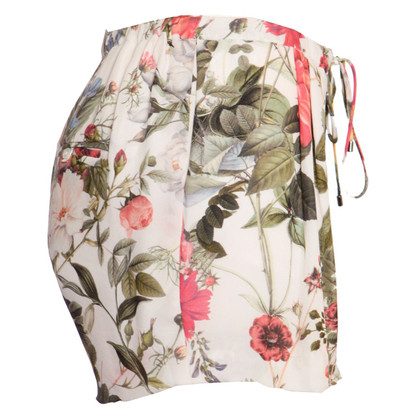 Haute Hippie Pantaloncini con motivo floreale