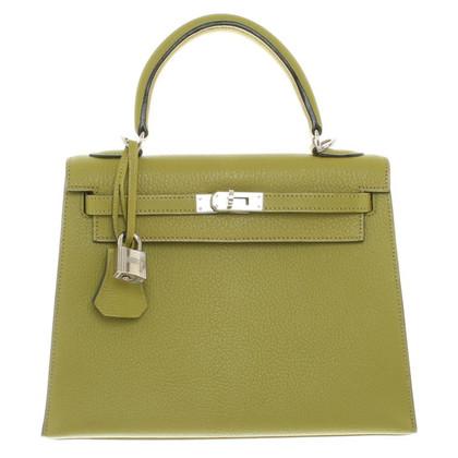 "Hermès ""Kelly Bag 25 Goatskin Mysore"""
