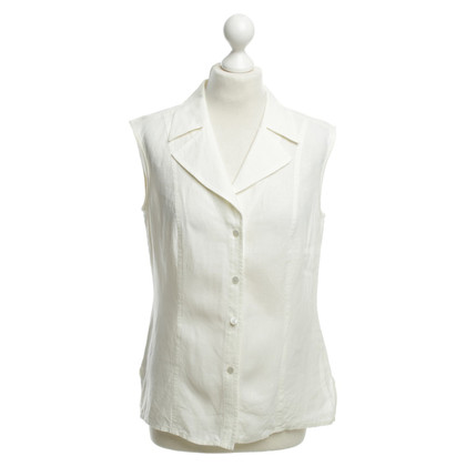 Escada Sleeveless blouse in cream