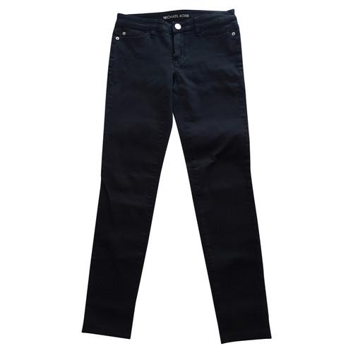 f1d009746a2721 Michael Kors Jeans aus Jeansstoff in Schwarz - Second Hand Michael ...