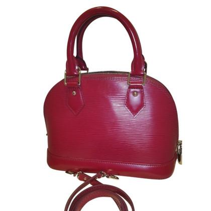 """Louis Vuitton """"Alma BB EPI' roze"""