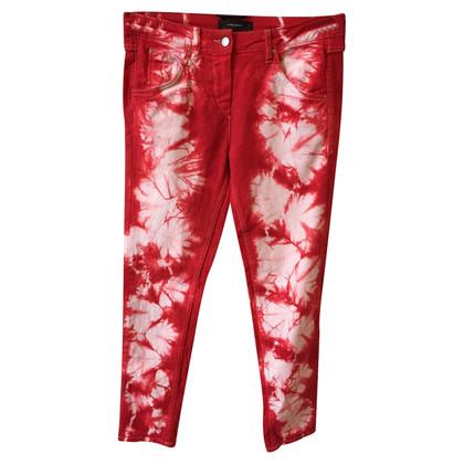 Isabel Marant Jeans in stile batik