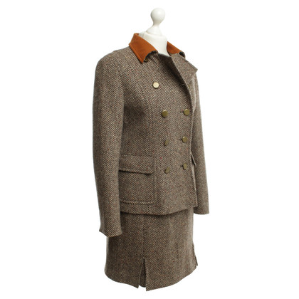 Bogner Wool suit with herringbone pattern