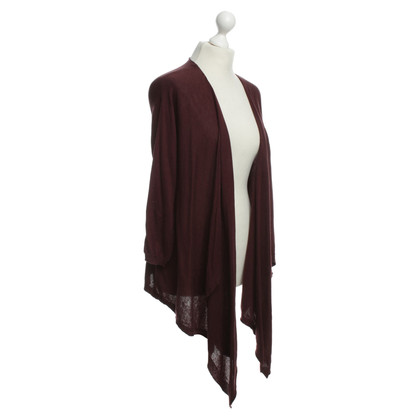 DKNY Cardigan in Bordeaux