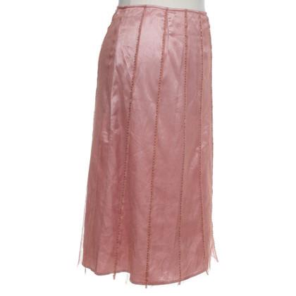L.K. Bennett skirt in pink