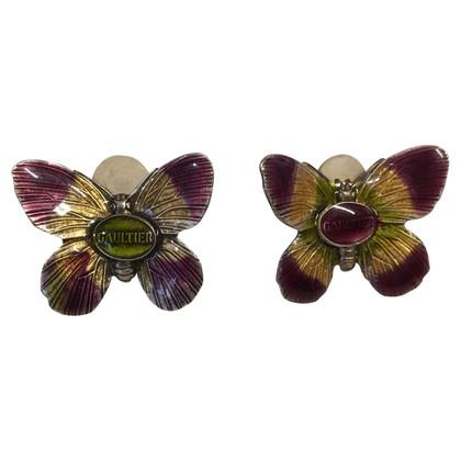Jean Paul Gaultier clip orecchio Farfalla